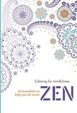 Integral Yoga Distribution Coloring for Mindful Zen
