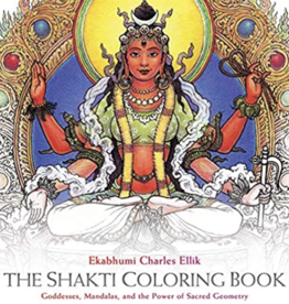 Integral Yoga Distribution Shakti Coloring Book