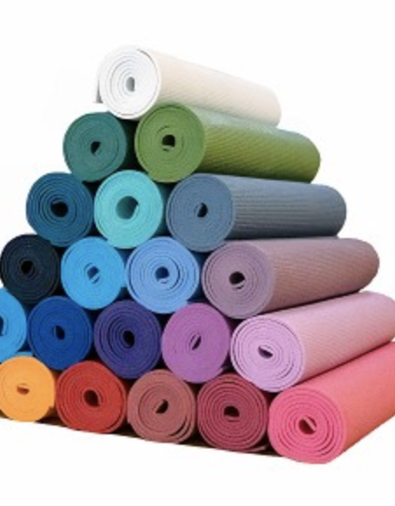 """Yoga Accessories Thick Deluxe Mat 1/4"""" - Black"""