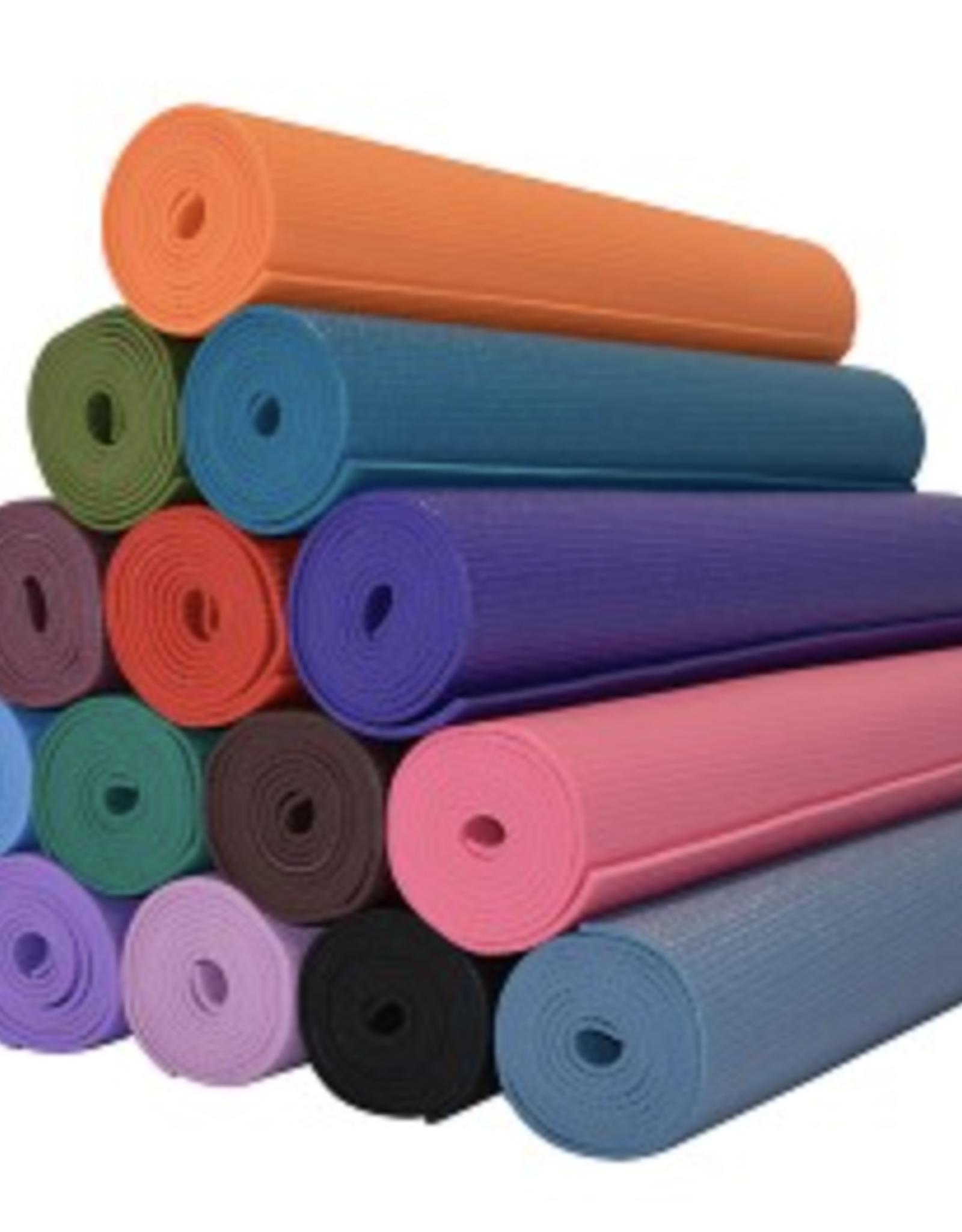 """Yoga Accessories Classic Mat 1/8"""" - Orange"""