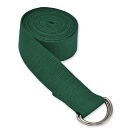 Yoga Accessories 10' D-Ring Yoga Strap - Green