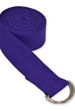 Yoga Accessories 10' D-Ring Yoga Strap - Purple