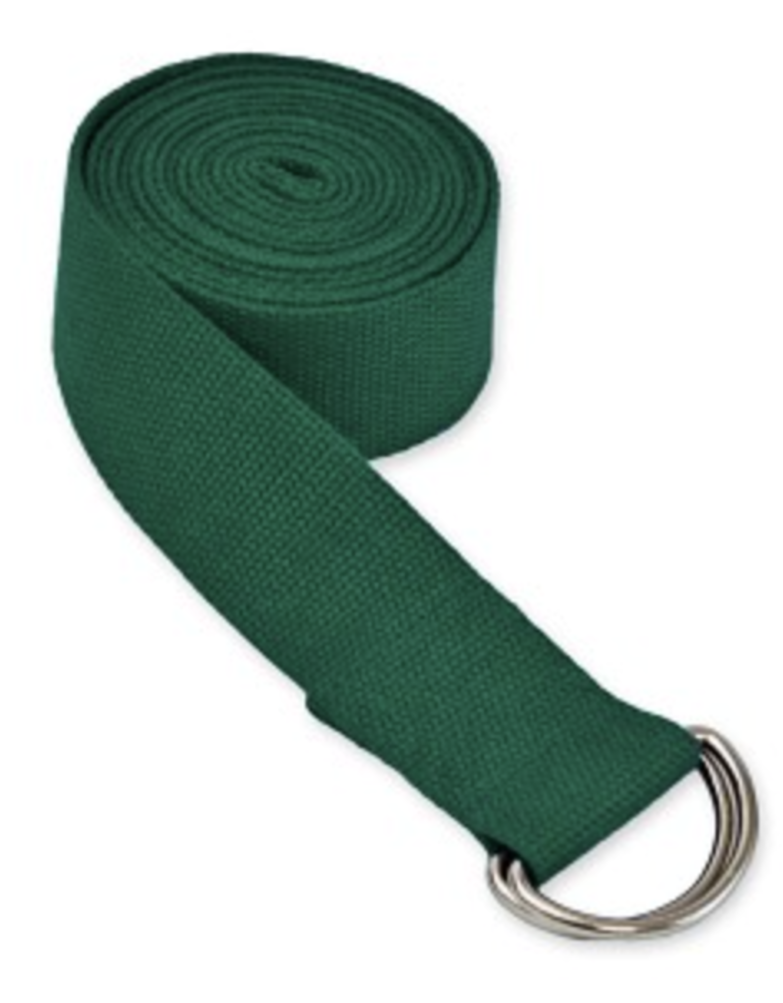Yoga Accessories 6' D-Ring Yoga Strap - Green