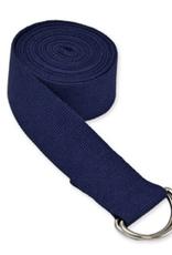 Yoga Accessories 8' D-Ring Yoga Strap - Blue