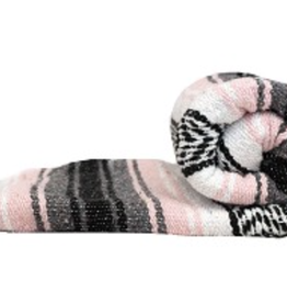 Yoga Accessories Mexican Blanket - Pink