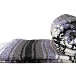 Yoga Accessories Mexican Blanket - Light Purple