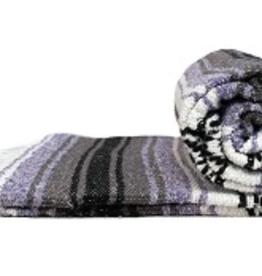 Yoga Accessories Mexican Blanket - Light Purple