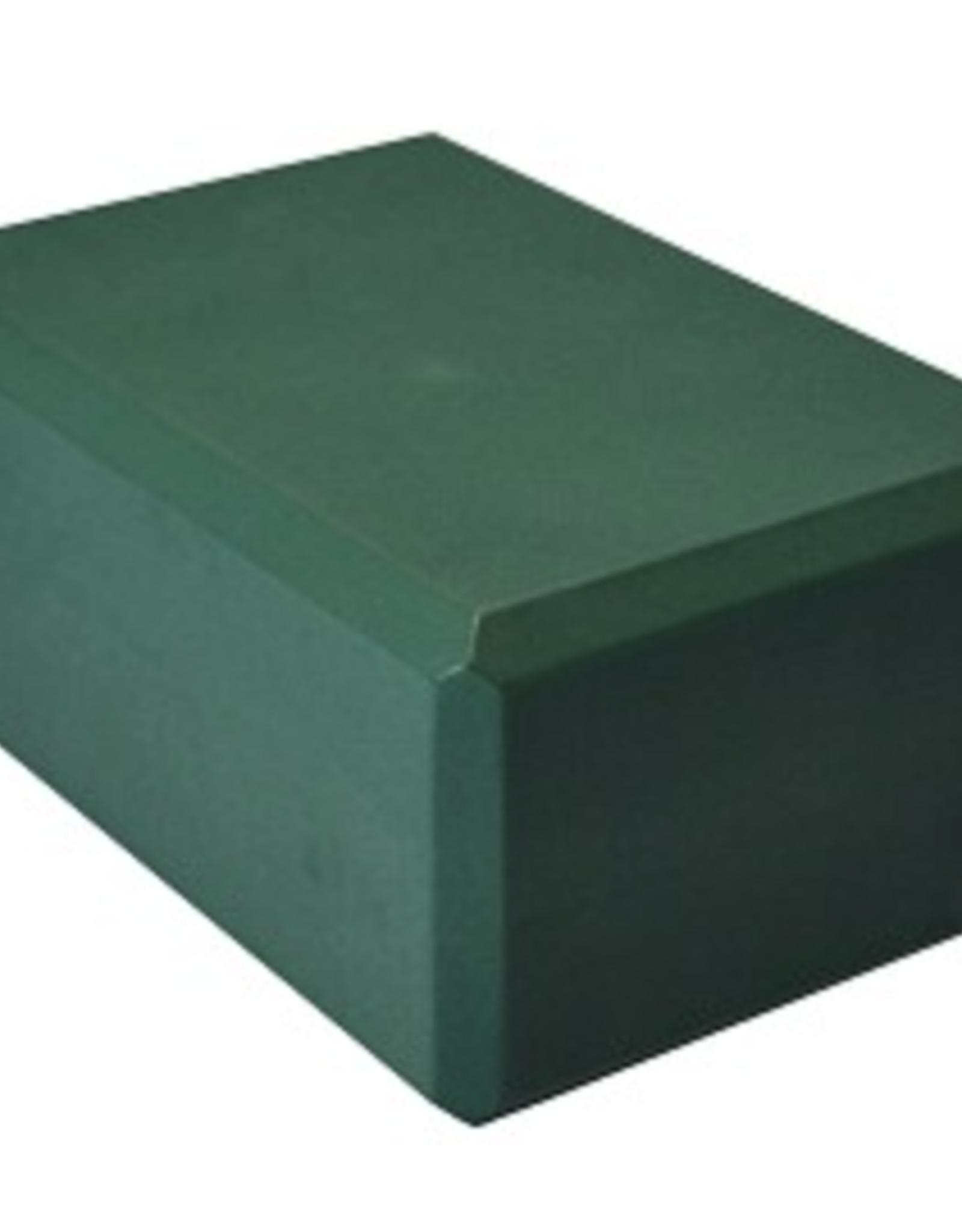 "Yoga Accessories 4"" Yoga Foam Block - Forest Green"