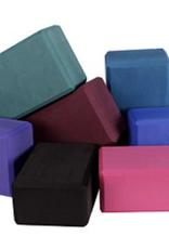 "Yoga Accessories 4"" Yoga Foam Block - Black"