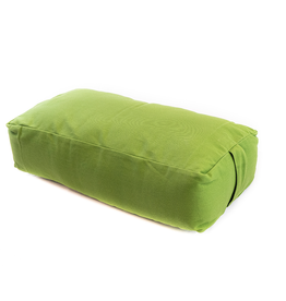 Yoga Accessories Rectangular Cotton Bolster - Olive Green