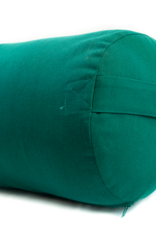 Yoga Accessories Round Cotton Bolster - Green