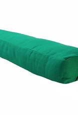 Yoga Accessories Pranayama Cotton Bolster - Green