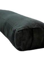 Yoga Accessories Pranayama Cotton Bolster - Black