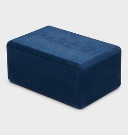 Manduka Recycled Foam Yoga Block - Midnight