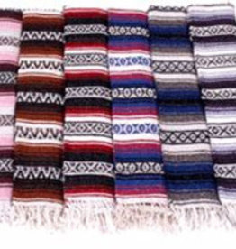 Mexican Blanket - Brown