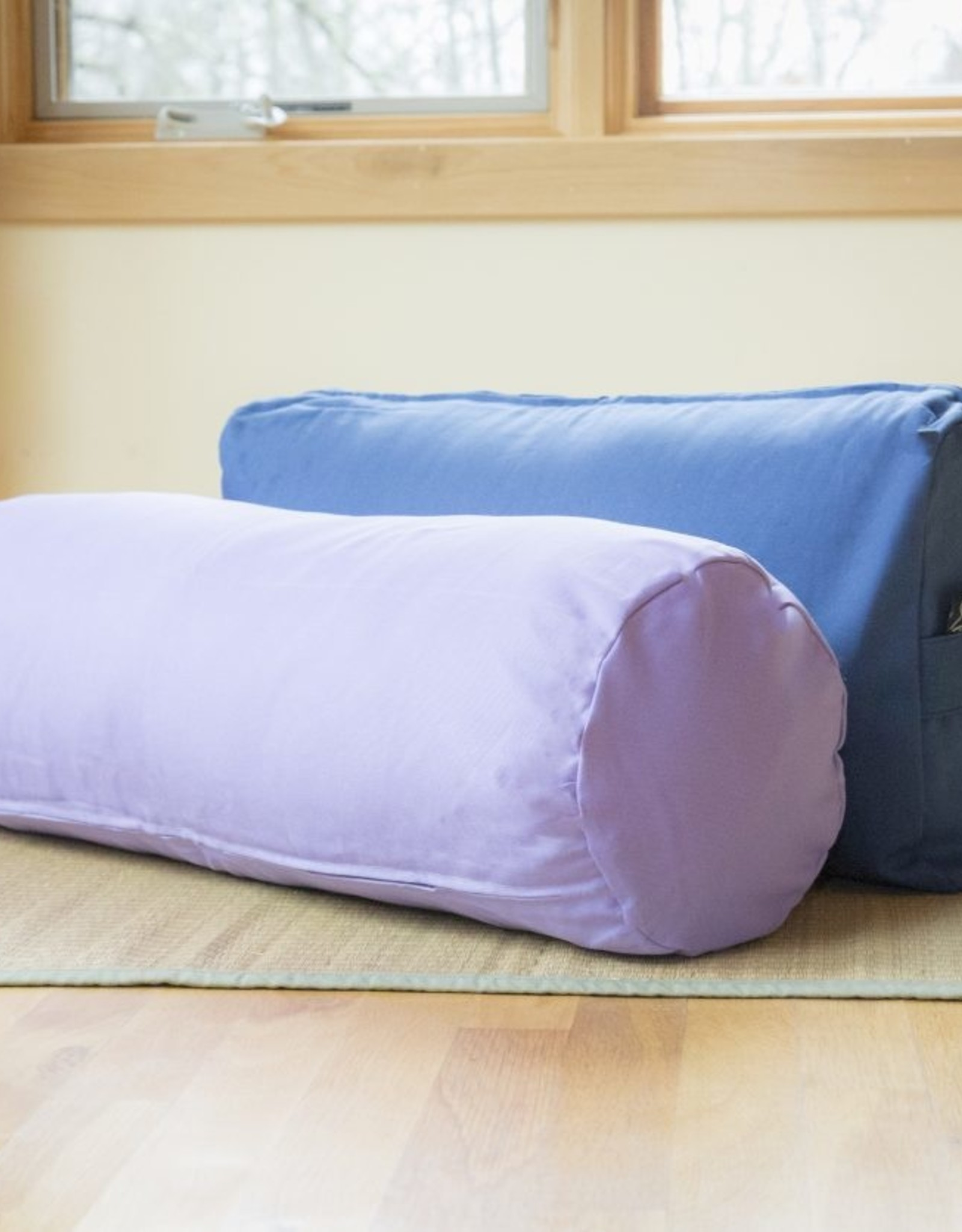 Carolina Morning Designs Rectangular Bolster - Organic Lavender