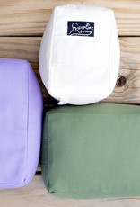 Carolina Morning Designs Buckwheat Yoga Block - Organic Plum