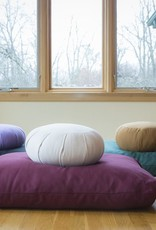 Carolina Morning Designs Buckwheat Zafu - Organic Indigo