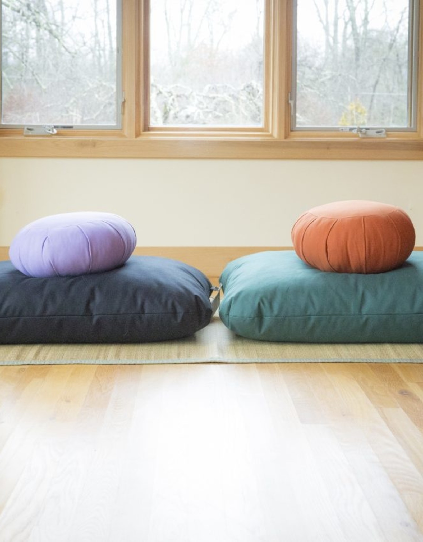 Carolina Morning Designs Buckwheat Zafu - Organic Plum