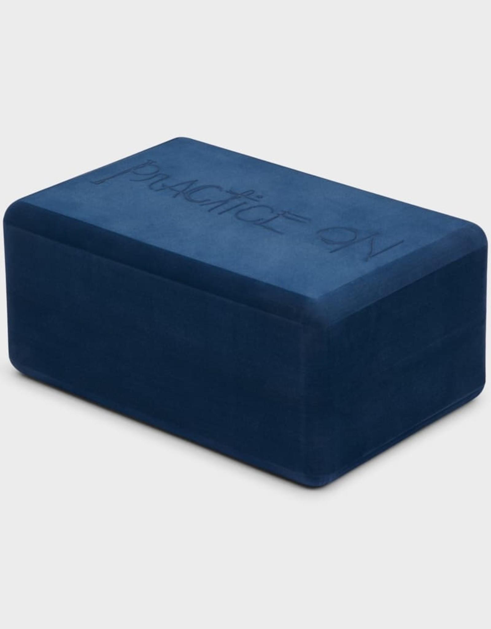 Manduka New Recycled Foam Yoga Block - Midnight