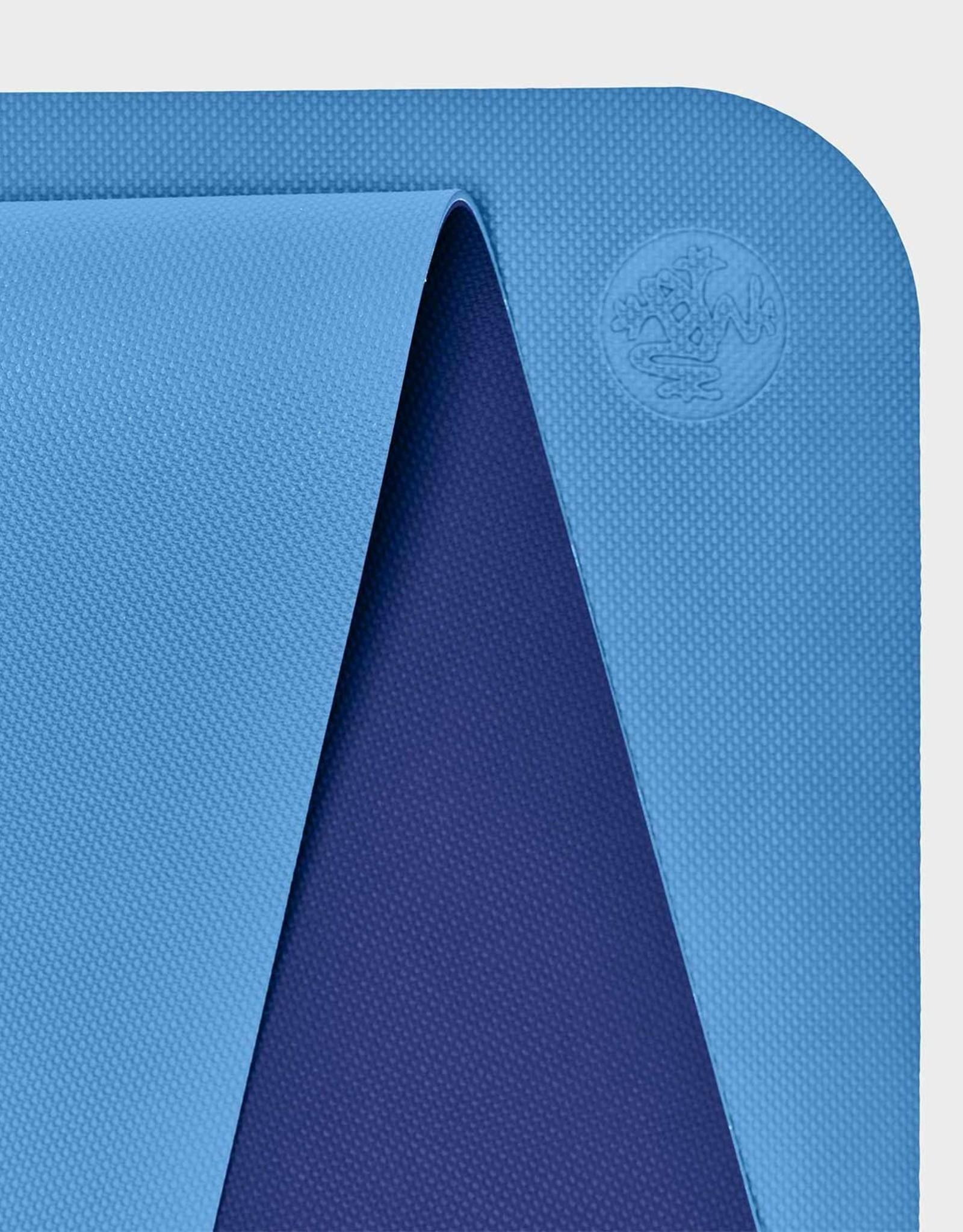 """Manduka Begin Yoga Mat 68"""" - Light Blue"""