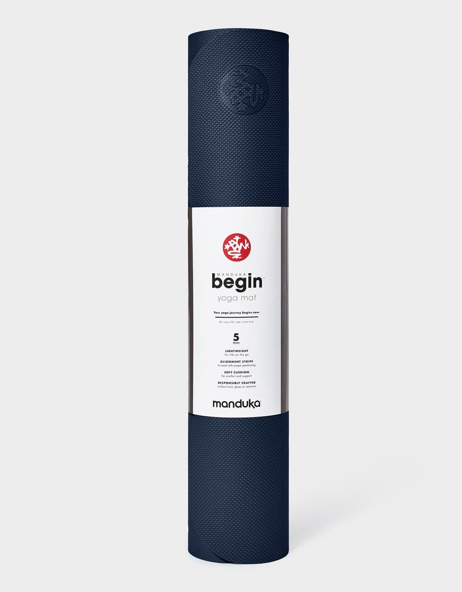 """Manduka Begin Yoga Mat 68"""" - Navy"""