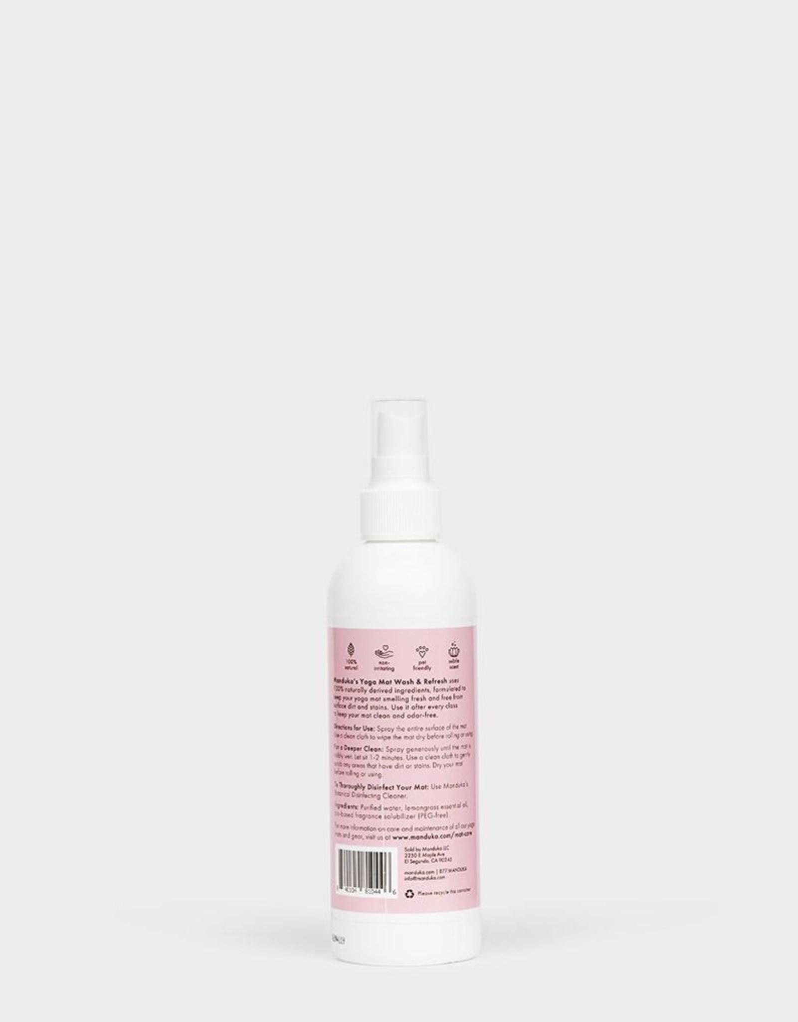 Manduka Mat Wash Spray 8oz - Lemongrass