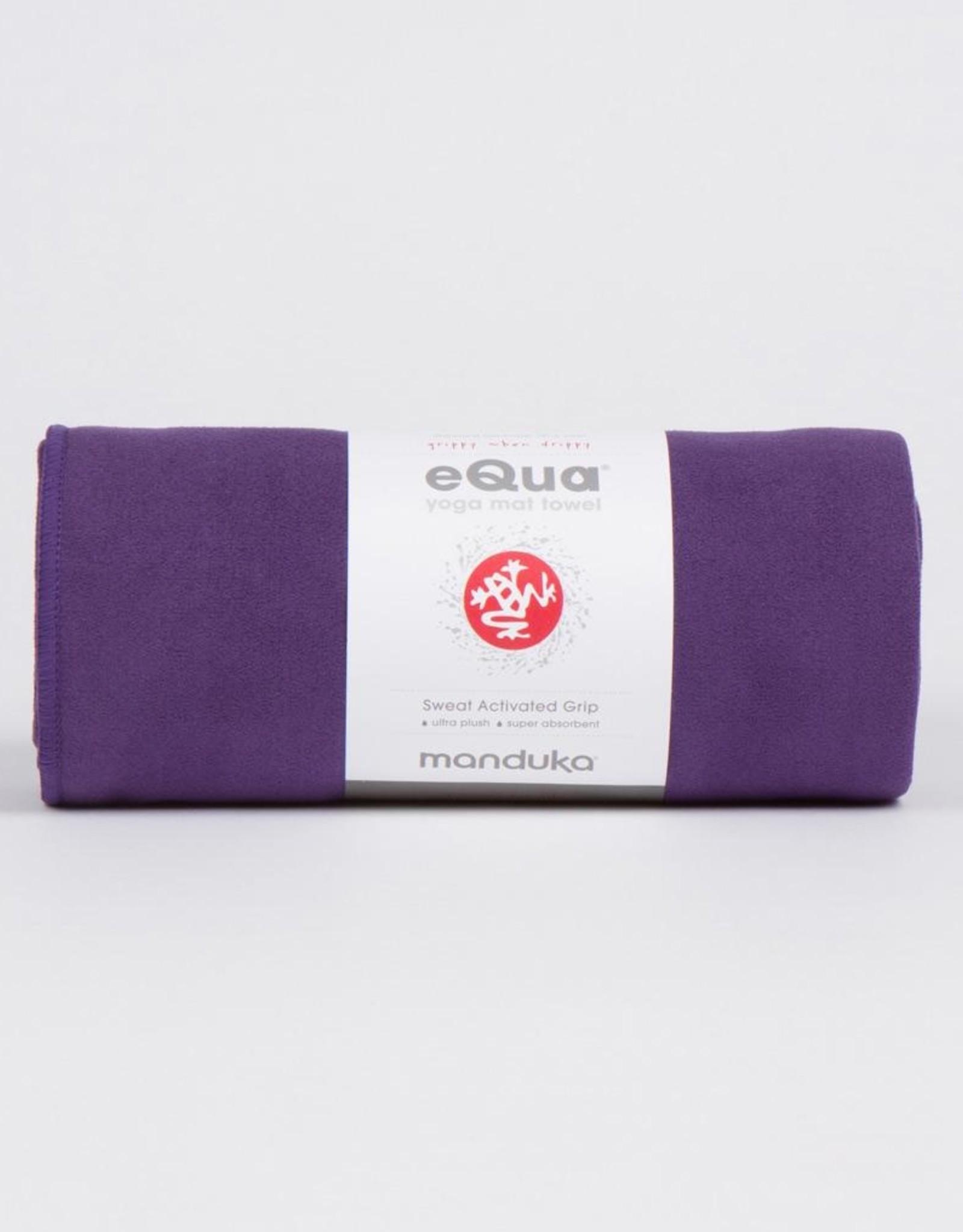 """Manduka eQua Mat Towel - Magic (Purple) 72"""""""