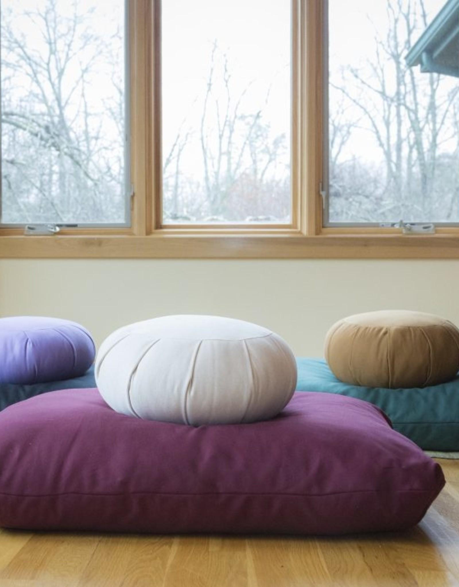 Carolina Morning Designs Zabuton - Large - Organic Indigo