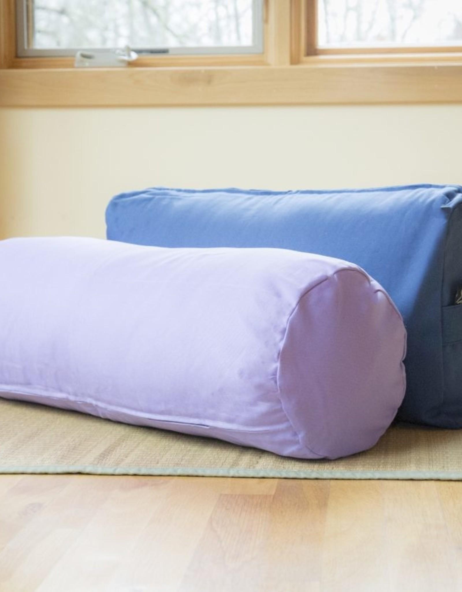 Carolina Morning Designs Cylinder Bolster - Organic Lavender