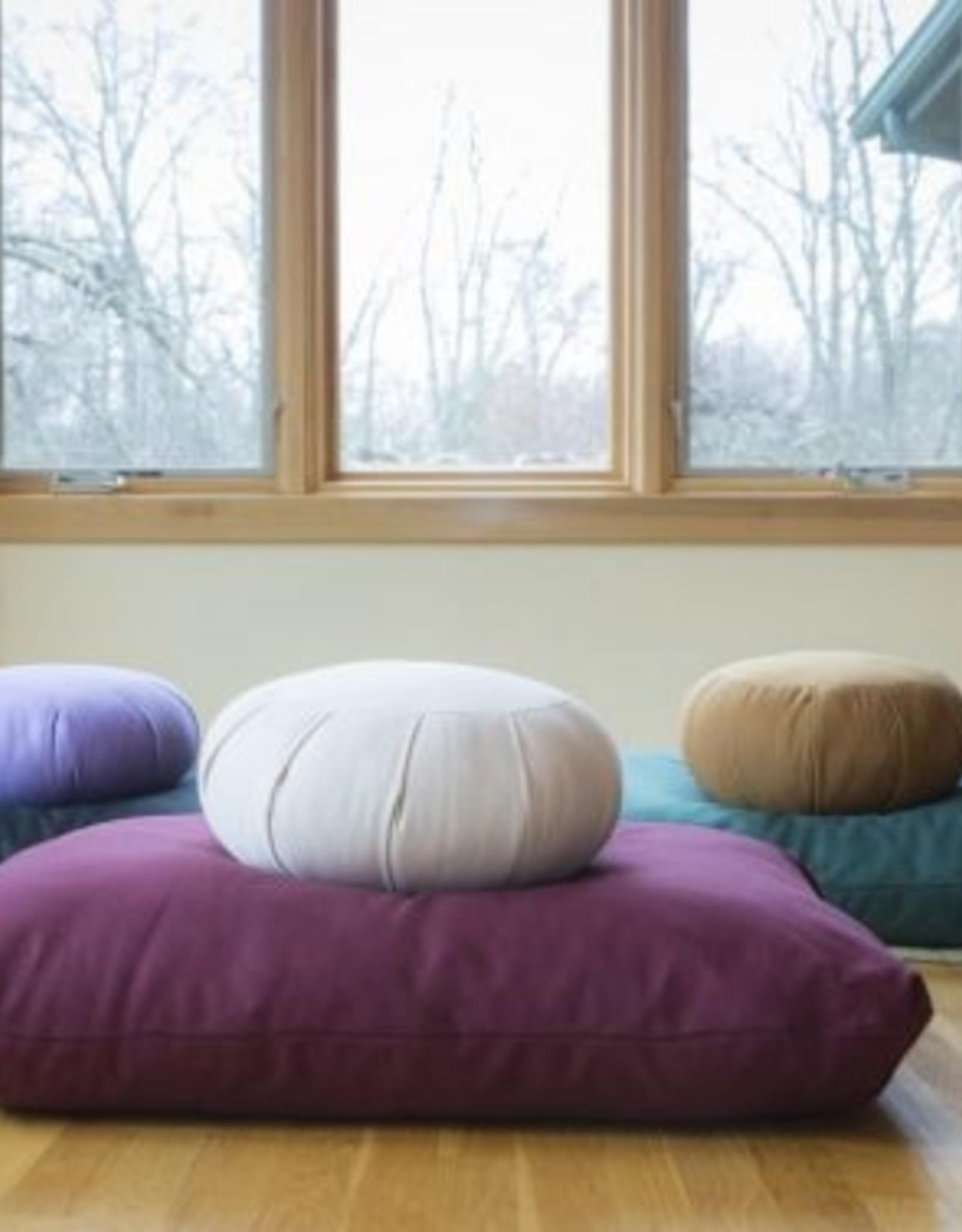Carolina Morning Designs Zabuton - Large - Organic Natural