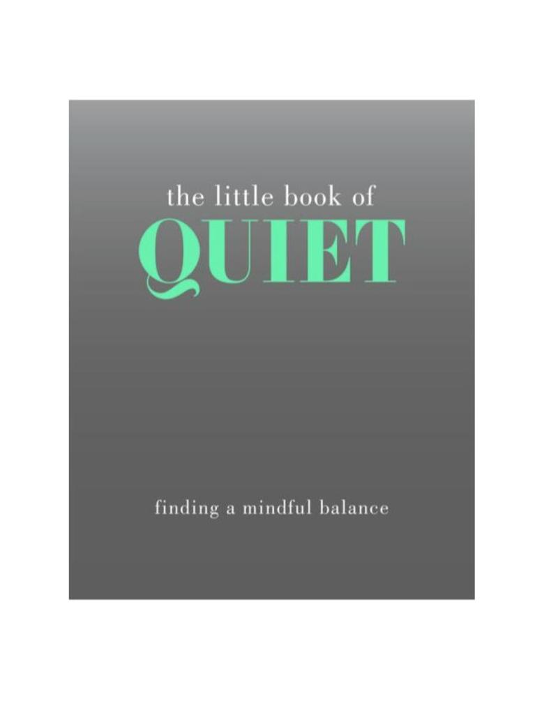 Little Book of Quiet