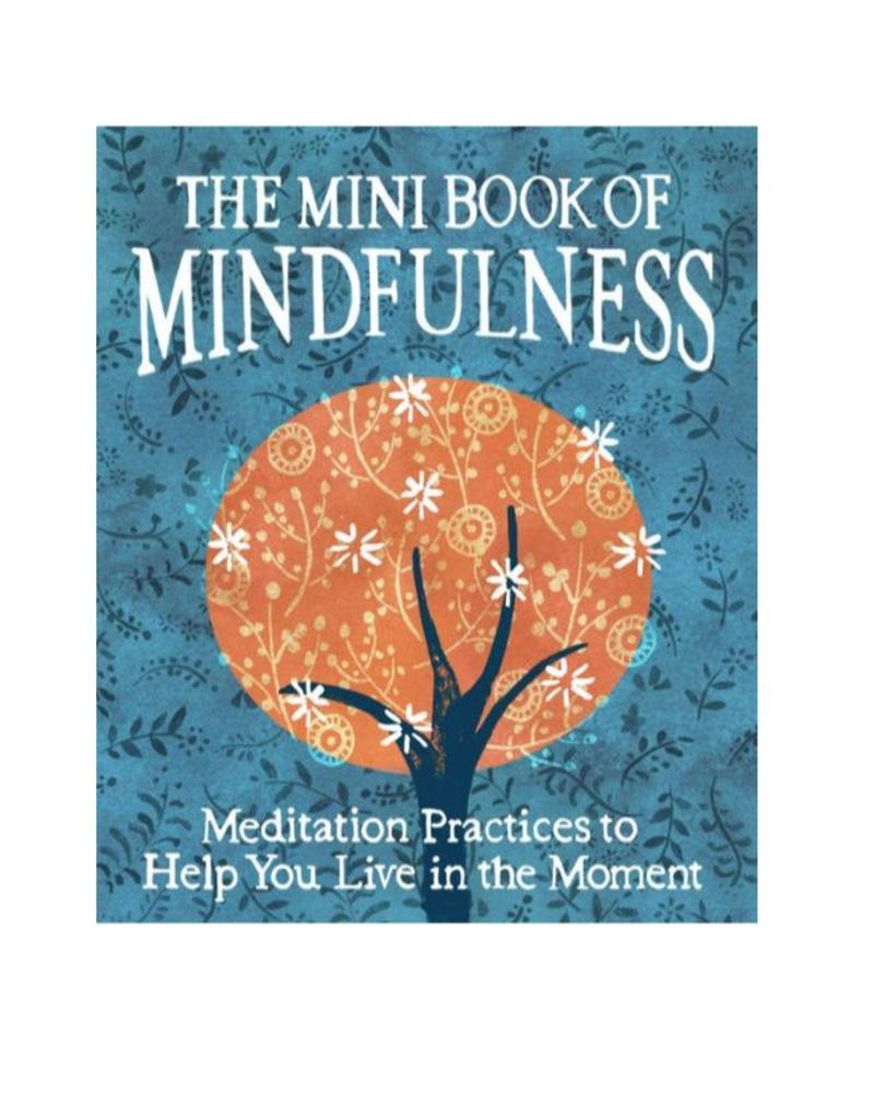 Mini Book of Mindfulness: Sanderson