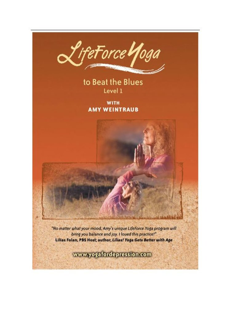 DVD LifeForce Yoga to Beat the Blues Level 1: Weintra