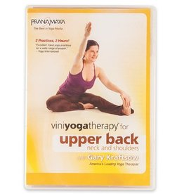 DVD Viniyoga Therapy Upper Back, Neck, Shoulders