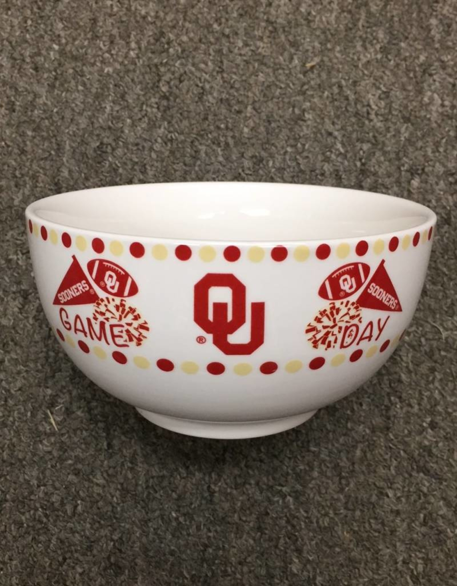 """The Memory Company Ceramic Game Day Bowl 5.5"""" round"""