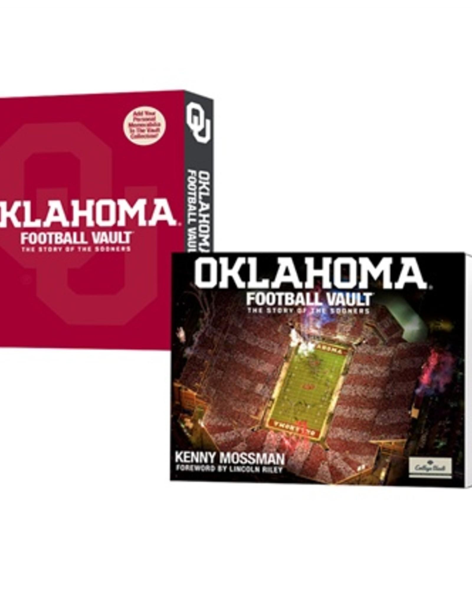 Whitman Oklahoma Football Vault Book by Kenny Mossman