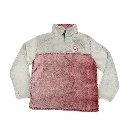 Summit Women's Summit Crimson Heather/Putty 1/4 Zip Sherpa