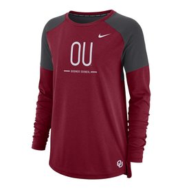 Nike Women's Nike Dri-Fit Long Sleeve Tailgate Top