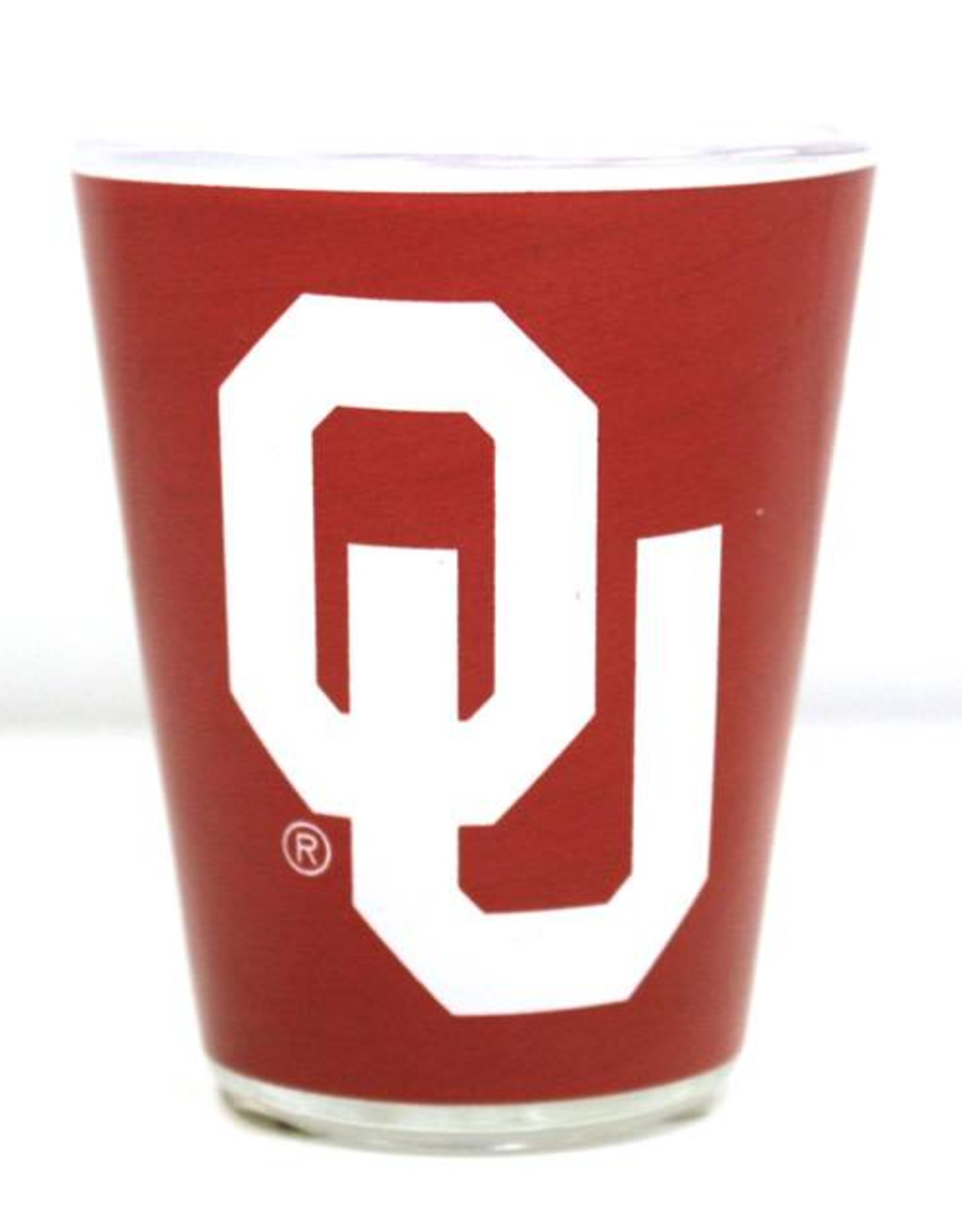 Jenkins OU Two-Tone Shot Glass