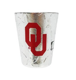 Jenkins OU Diamond Plate Shot Glass
