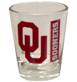 Jenkins OU Sooners Shot Glass