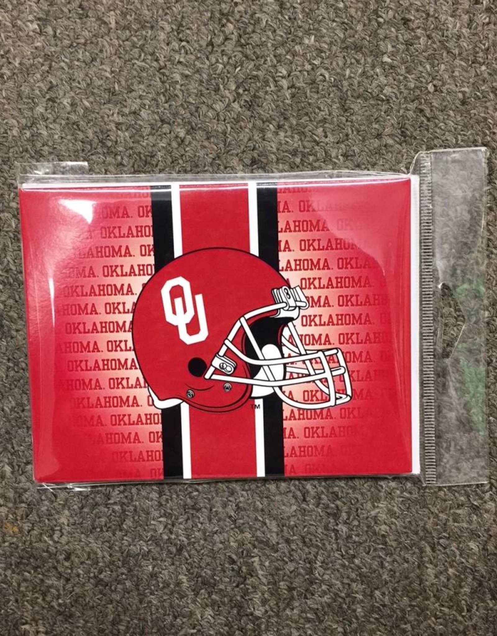 The Fanatic Group OU Helmet Notecard (10pk)