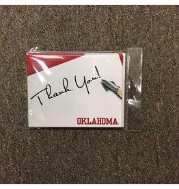 The Fanatic Group Oklahoma Thank You Notecard (10pk)