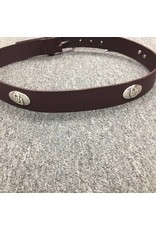 Jardine Game Day Leather 4 Concho Belt-Brown