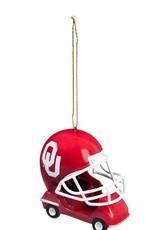 Team Sports America Oklahoma Helmet Field Car Ornament