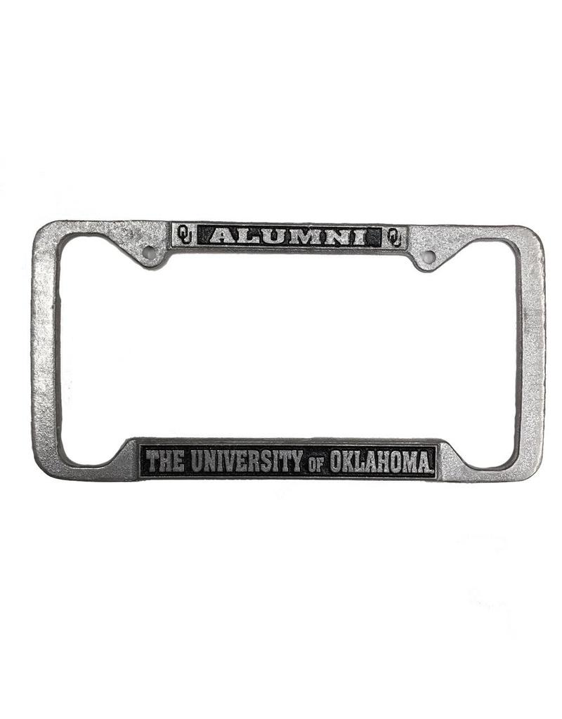 Craftique Craftique Alumni Pewter License Frame