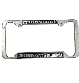 Craftique Craftique Sooners Pewter License Frame