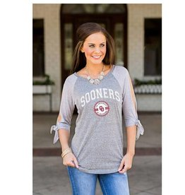 Gameday Couture Women's Gameday Couture Gray Raglan