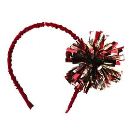 Divine Creations Foil Pom Head Band